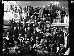 Crew members of HMS Royalist