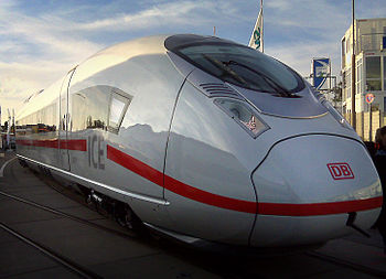 English: Siemens Velaro D at InnoTrans 2010 af...
