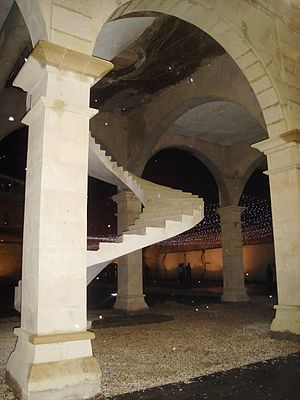 English: Staircase in Kutaisi
